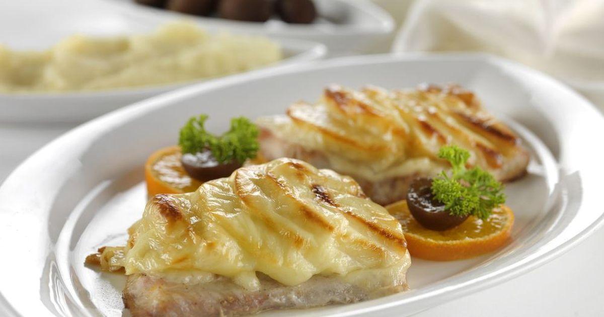Фото Запеченная рыба под сырной корочкой