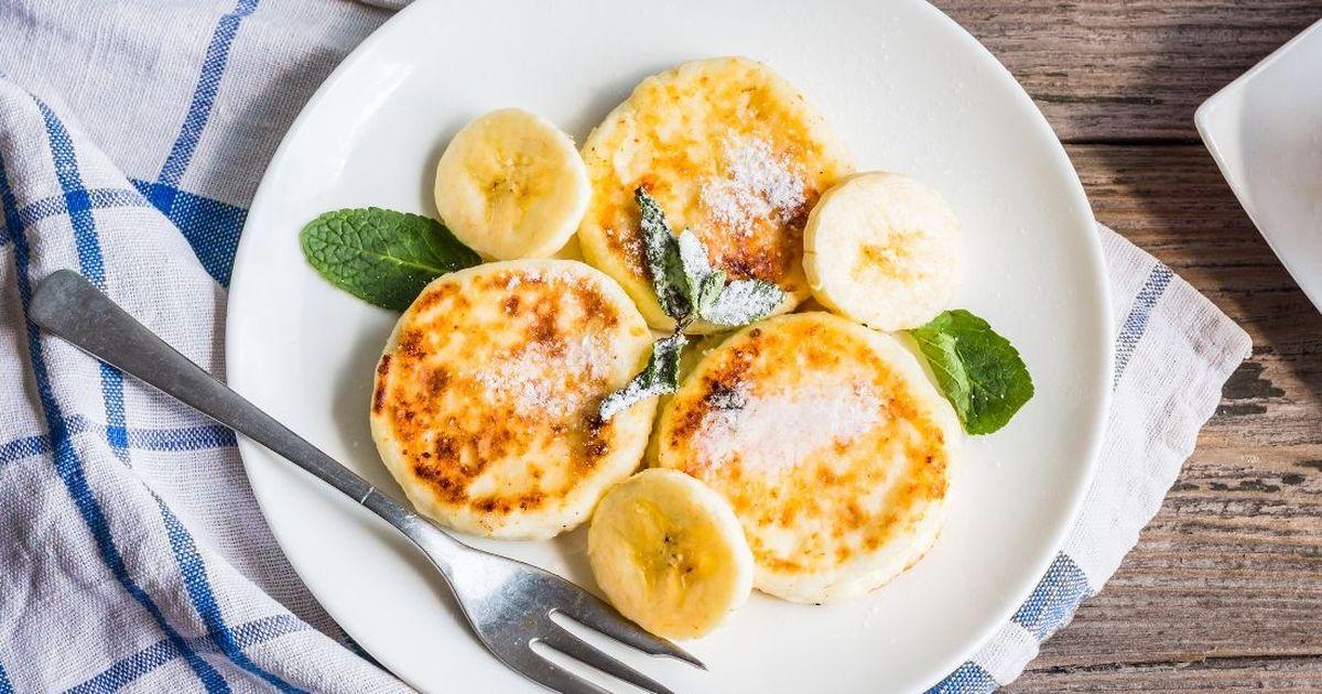 Фото Вкуснейшие сырники из творога с бананом