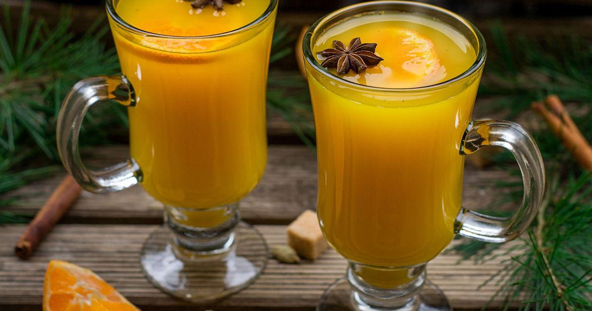 Фото Напиток «Горячий апельсин»