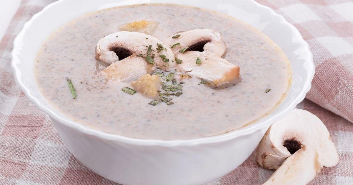 Фото Нежнейший грибной суп-пюре из шампиньонов