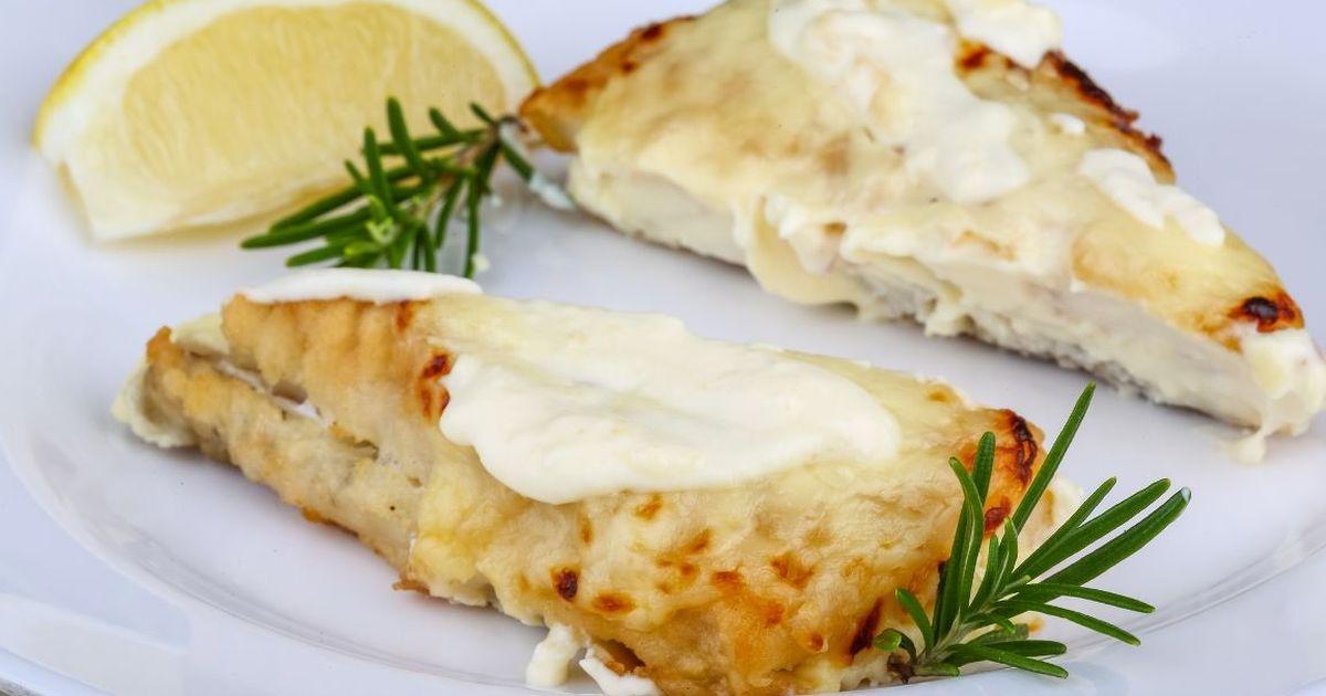 Фото Аппетитный судак, запеченный с сыром