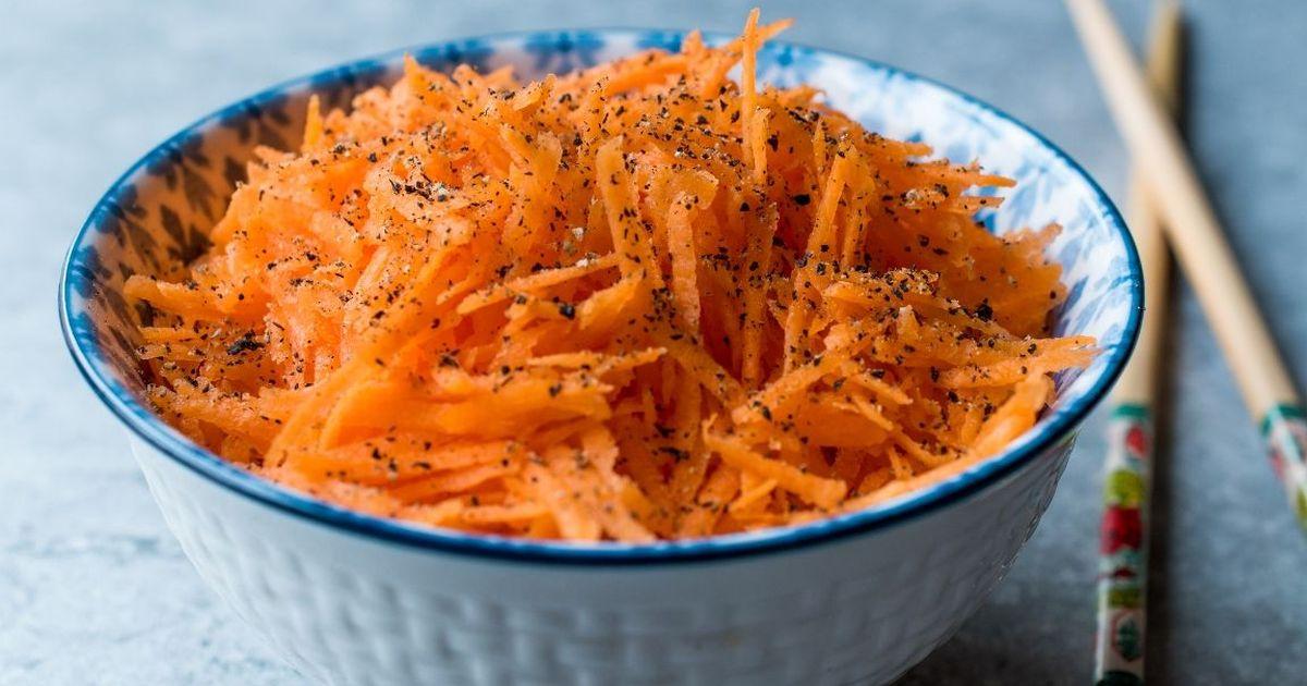 Фото Вкуснейшая домашняя морковь по-корейски
