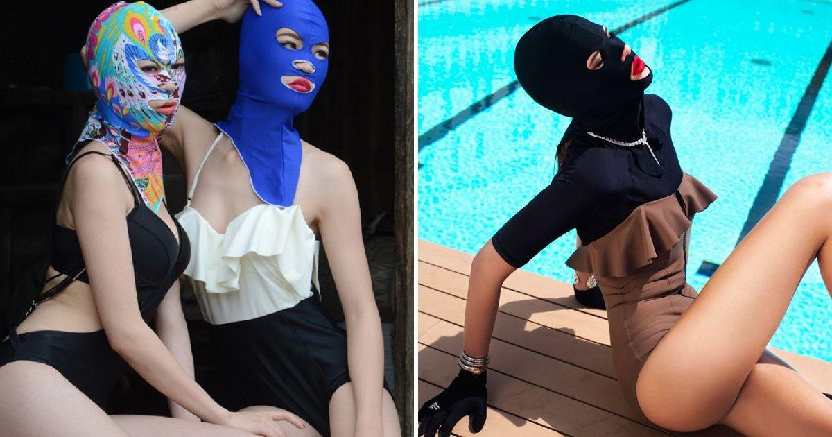 Фото Фейскини: странная мода, набирающая обороты
