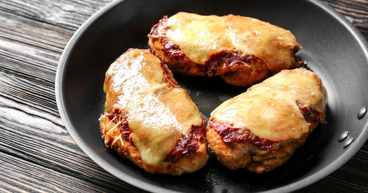 Фото Запеченное куриное филе с пармезаном