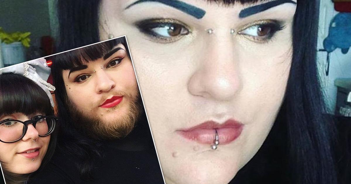 Фото Американка отказалась брить бороду после того, как нашла свою любовь