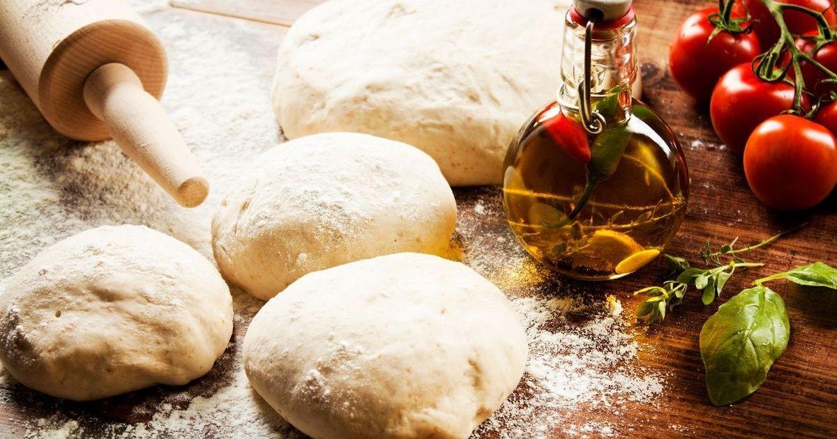 Фото Домашнее тесто для пиццы