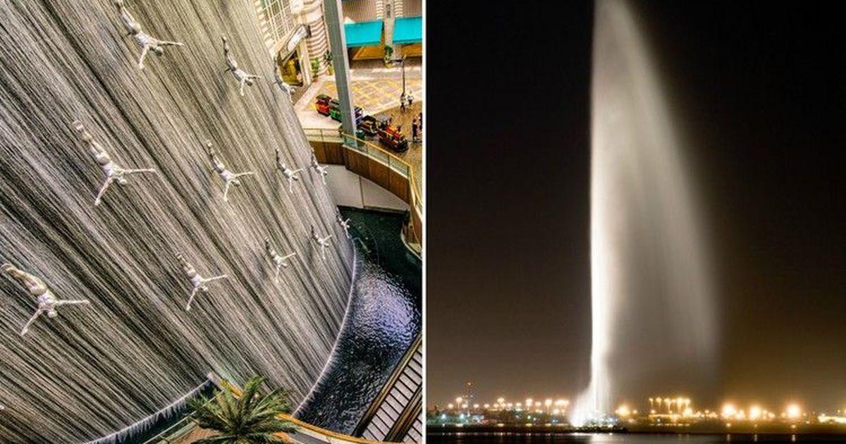 Фото Удивительные и необычные фонтаны со всего мира