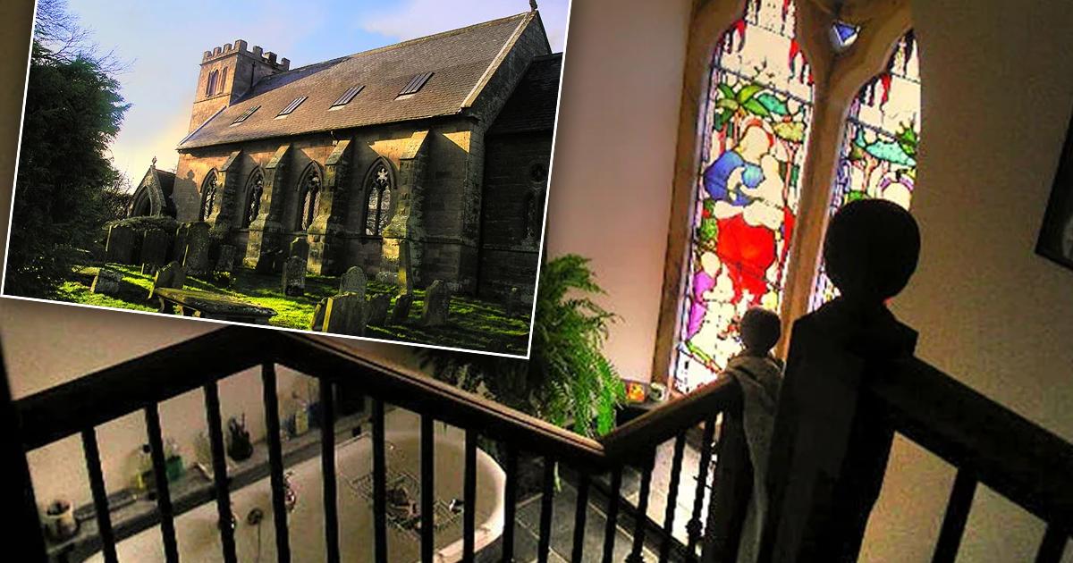 Фото Семья построила дом своей мечты из старой церкви