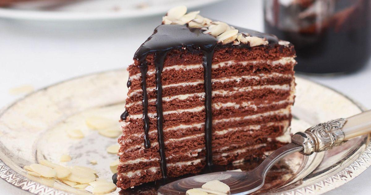 Фото Легендарный торт «Спартак»