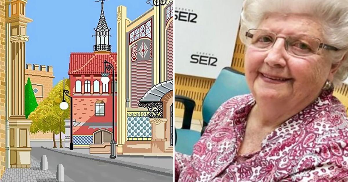 Фото 87-летняя бабушка создает настоящие шедевры в обычном Paint