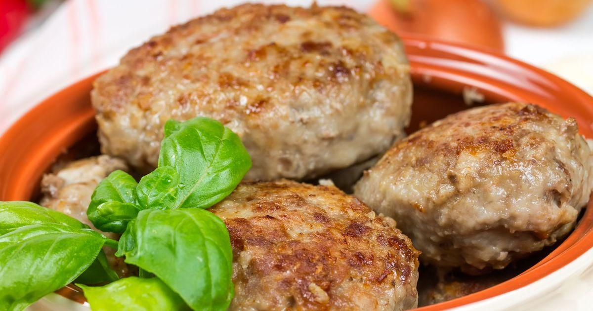 Фото Аппетитные котлеты из свинины