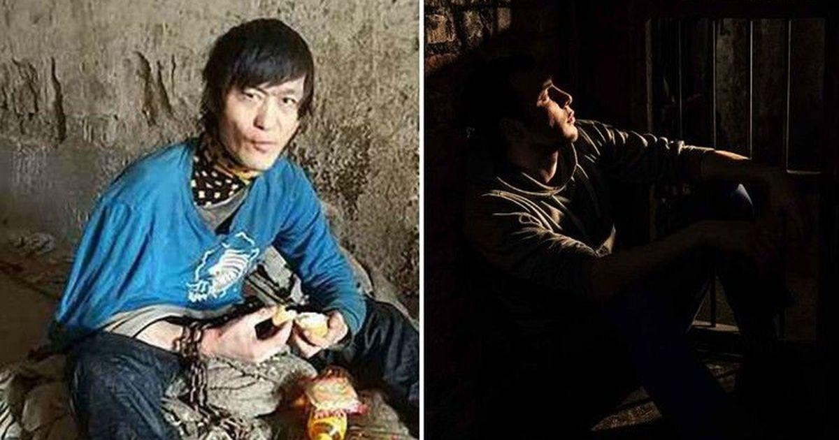 Фото В Китае мать более 10 лет держала глухонемого сына на цепи