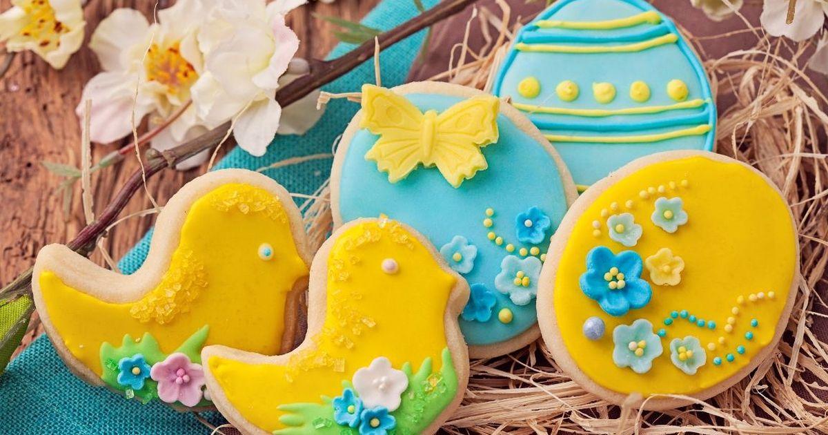 Фото Праздничное печенье на Пасху