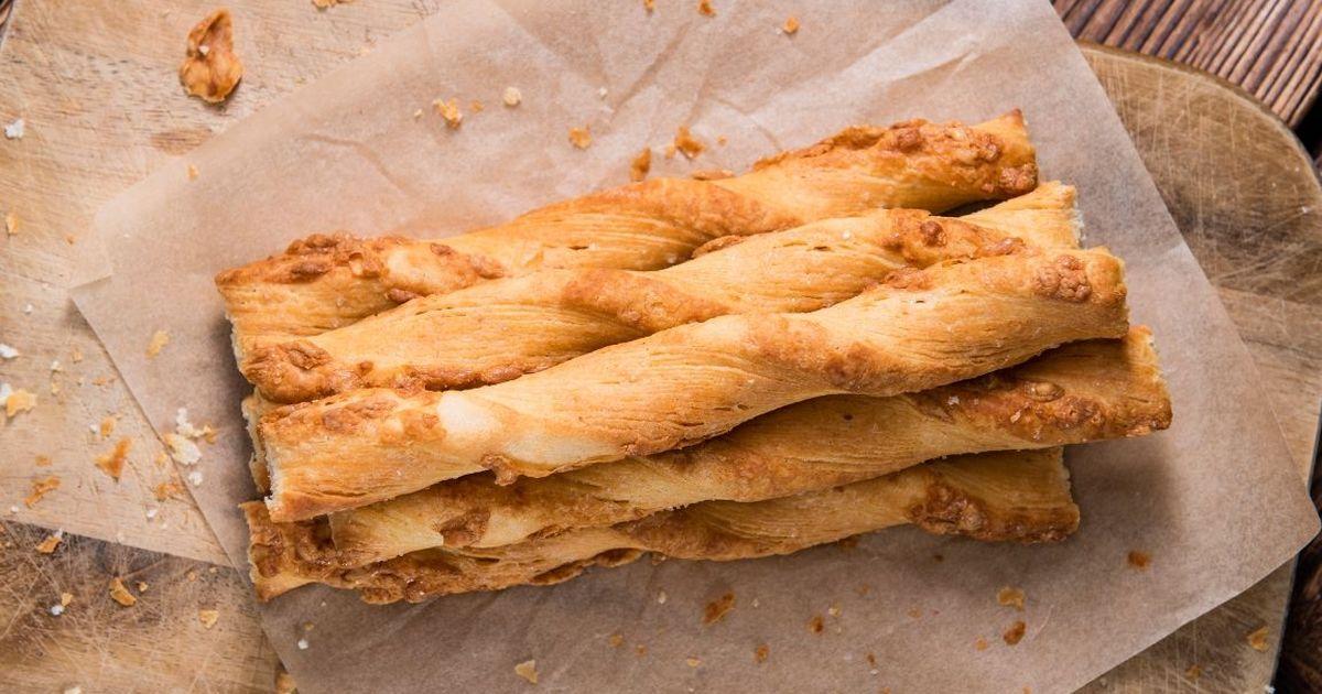 Фото Домашние сырные палочки