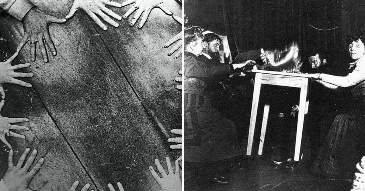 Фото Потусторонний мир, или мрачные спиритические сеансы прошлого