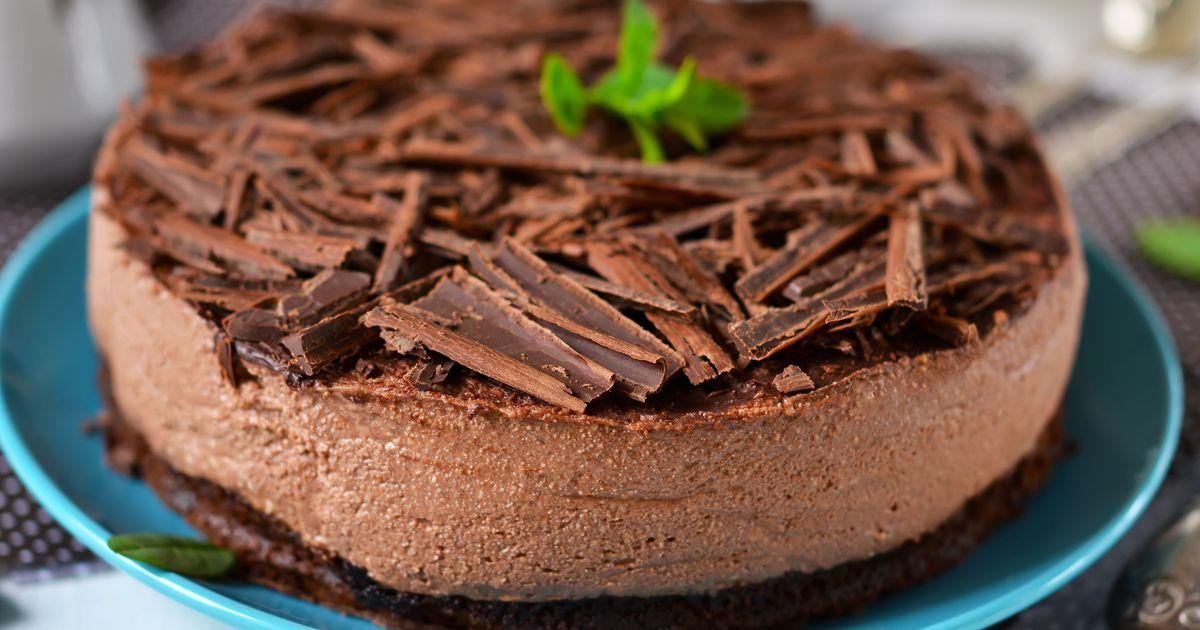 Фото Шоколадный чизкейк с маскарпоне