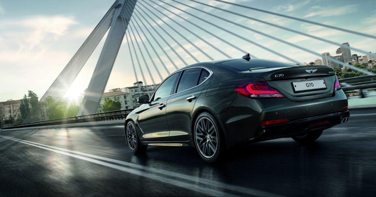 Фото Genesis представил на российском рынке спортивный седан G70