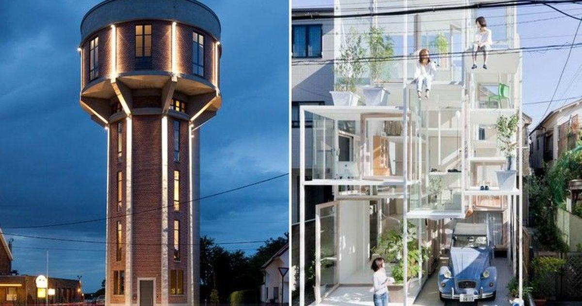 Фото Необычные дома отовсюду, где действительно живут люди