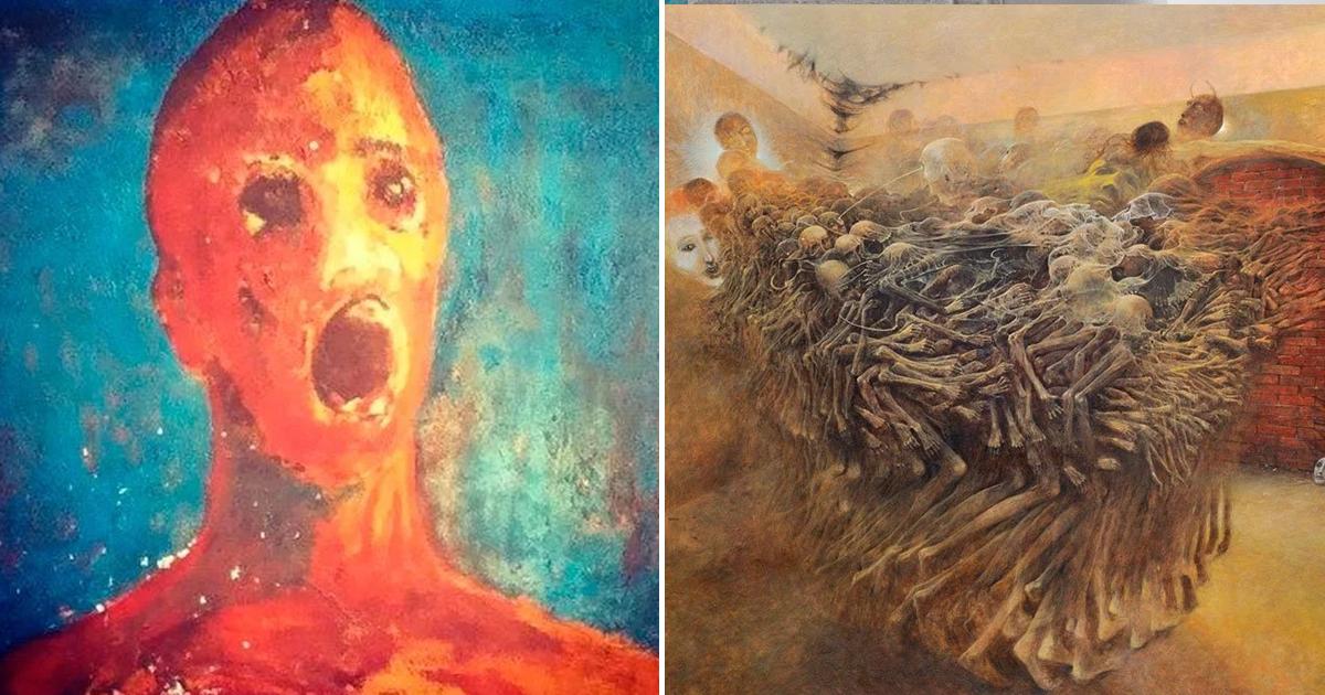 Фото Проклятые картины, скрывающие ужасные истории создания