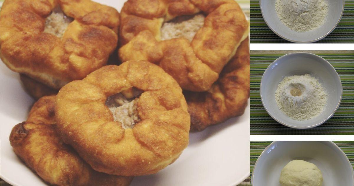 Фото Домашние беляши с мясом: пошаговый фото рецепт