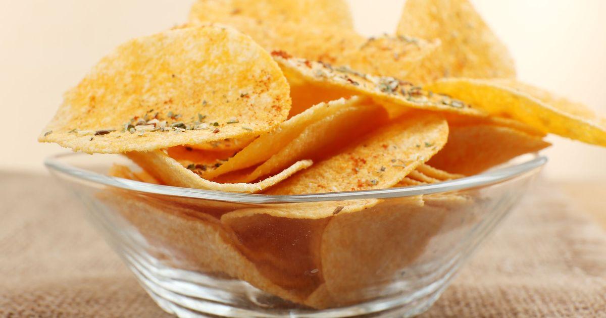 Фото Картофельные чипсы в домашних условиях
