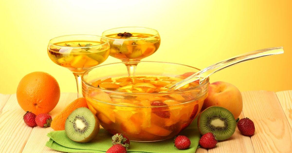 Фото Вкуснейший ананасовый пунш