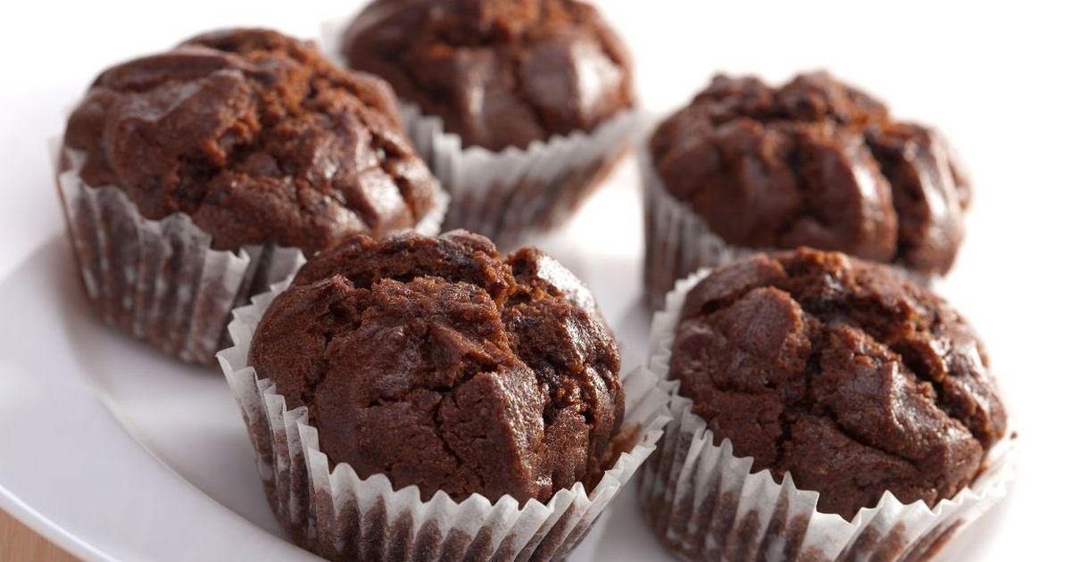 Фото Вкуснейшие шоколадные маффины