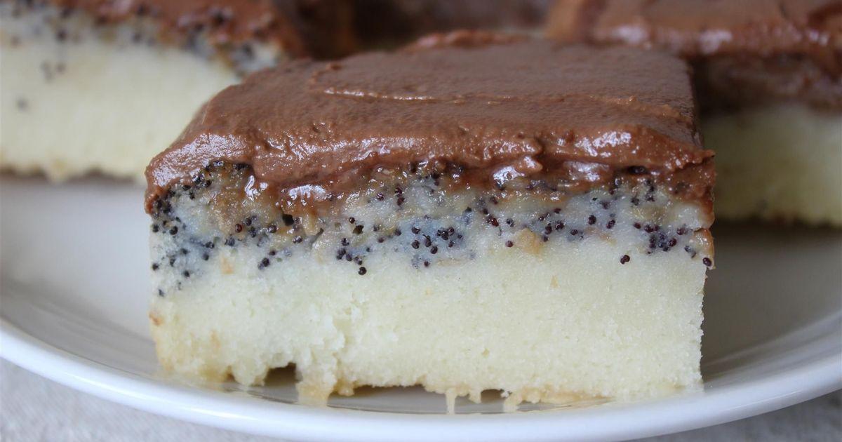 Фото Слоеный пирог с шоколадом, маком и орехами: пошаговый фото рецепт