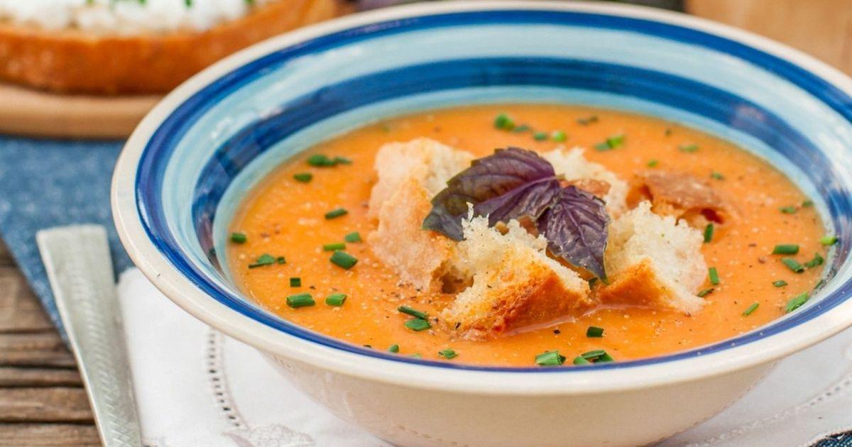 Фото Паппа аль помодоро – тосканский томатный суп-пюре с хлебом
