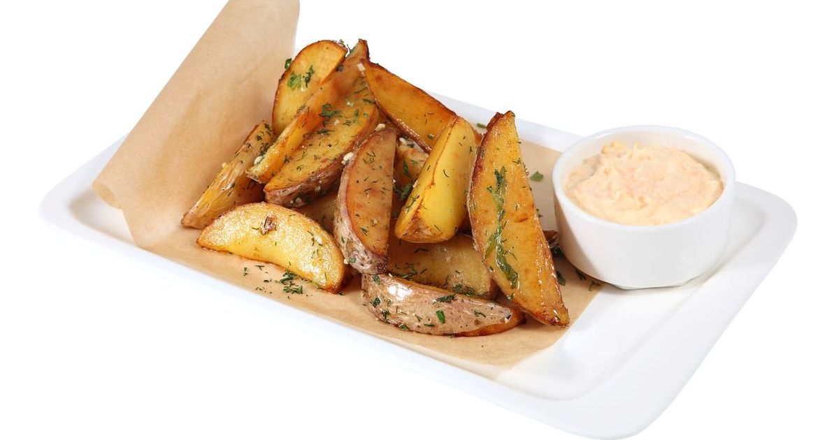 Фото Аппетитный картофель айдахо