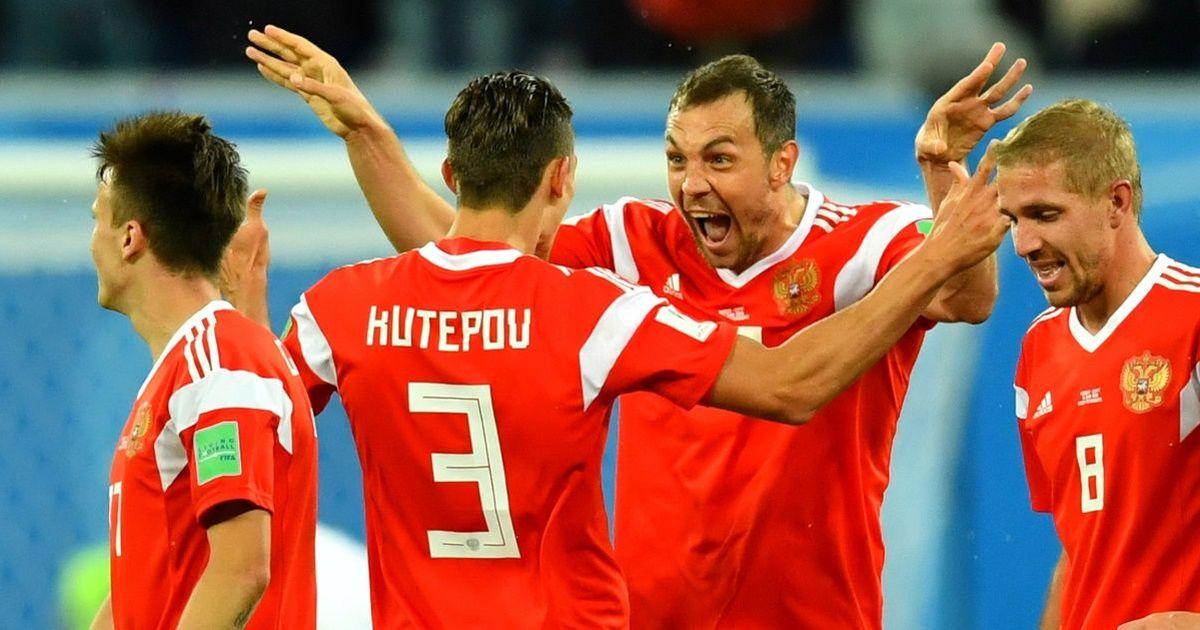 Фото Названо, сколько миллионов заработала сборная РФ за выход из группы