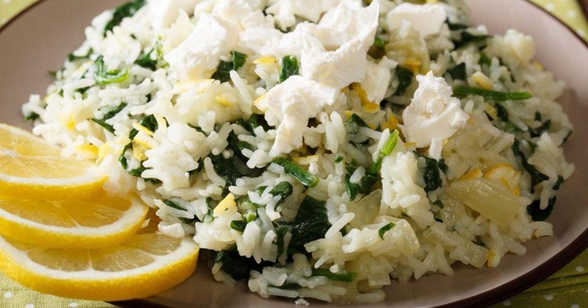 Фото Спанакоризо – рис со шпинатом по-гречески