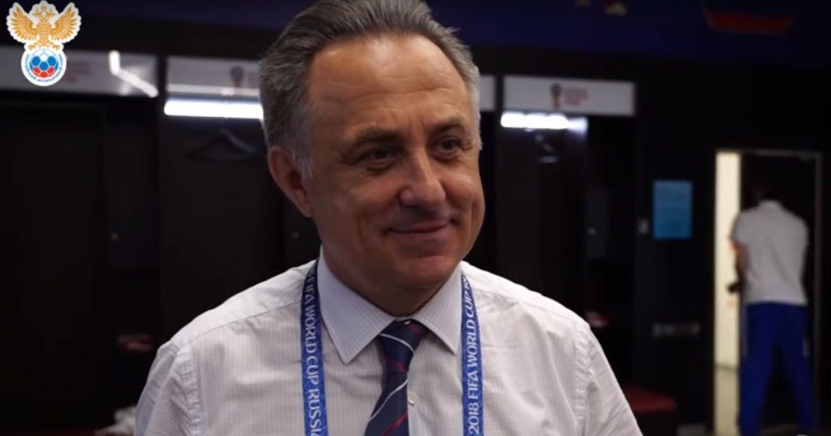 Фото Мутко о победе сборной России над Испанией: