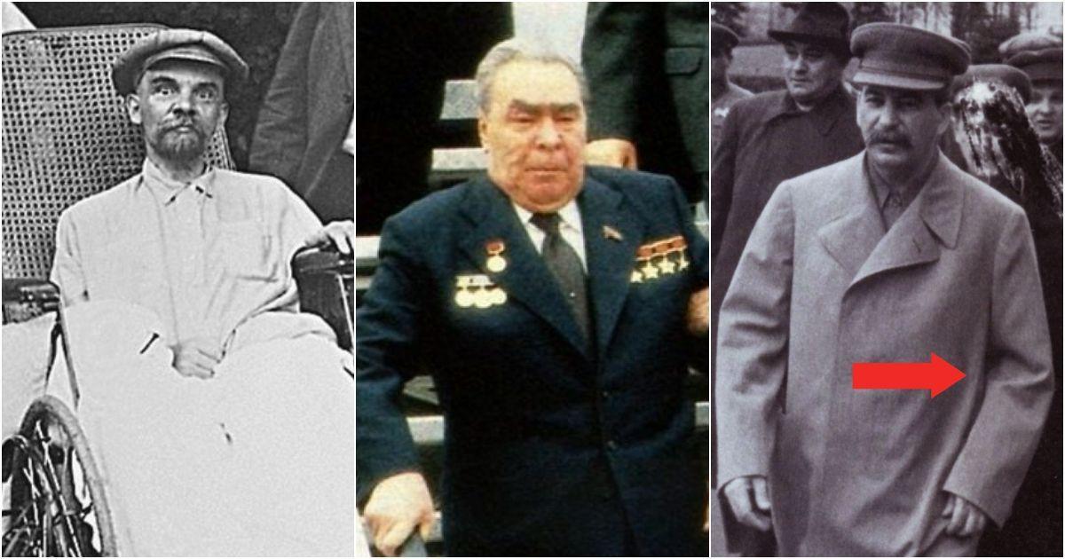 Фото Что было с мозгом Ленина и рукой Сталина? Болезни советских вождей