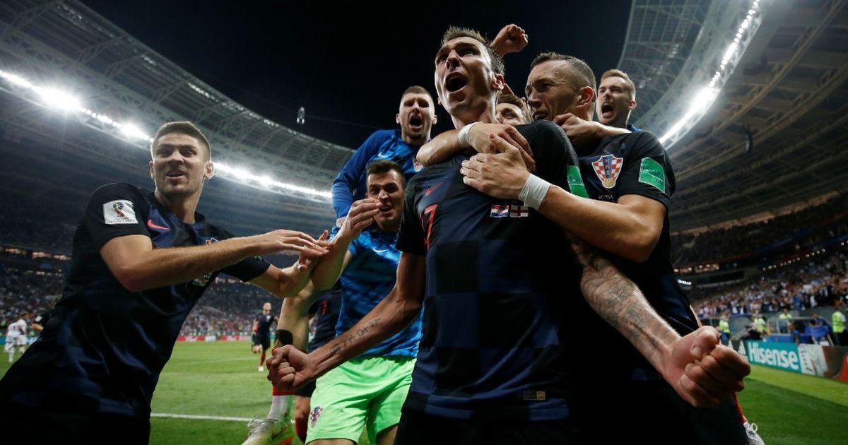Фото Хорваты обыграли англичан и впервые в истории вышли в финал ЧМ