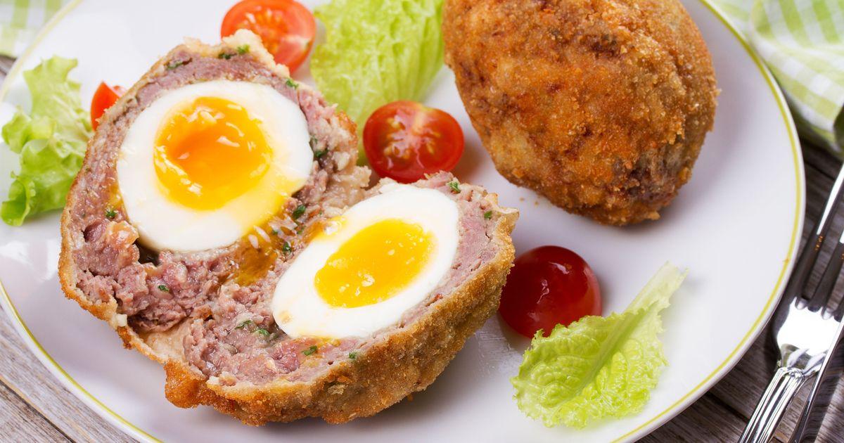Фото Яйца по-шотландски от Гордона Рамзи