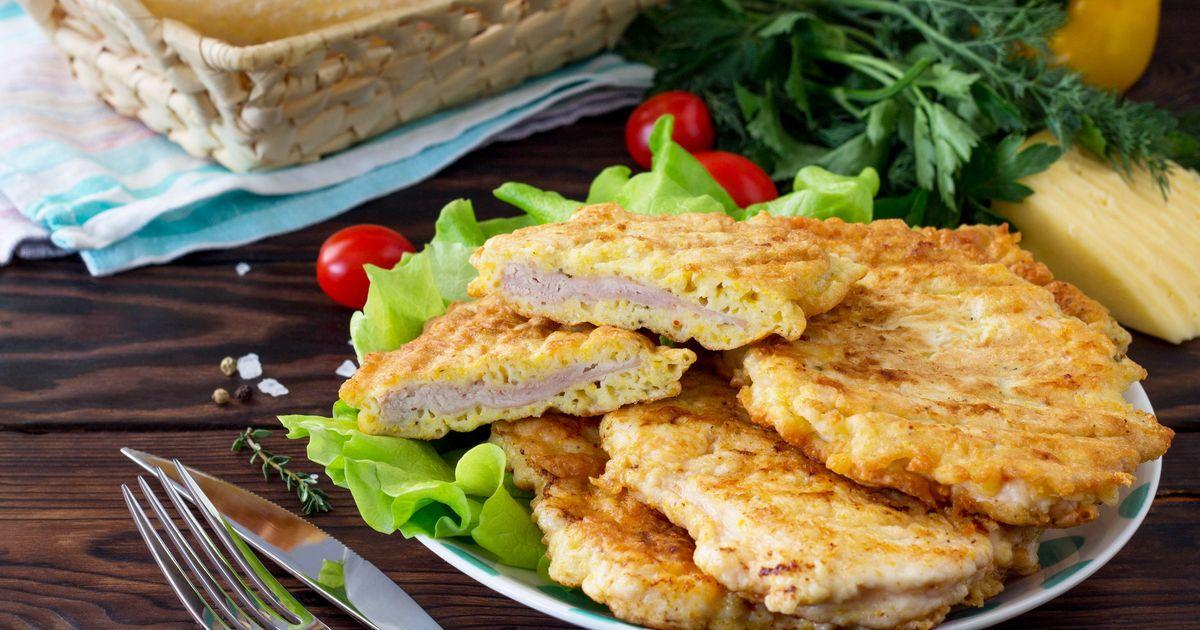 Фото Отбивные из куриного филе с сыром