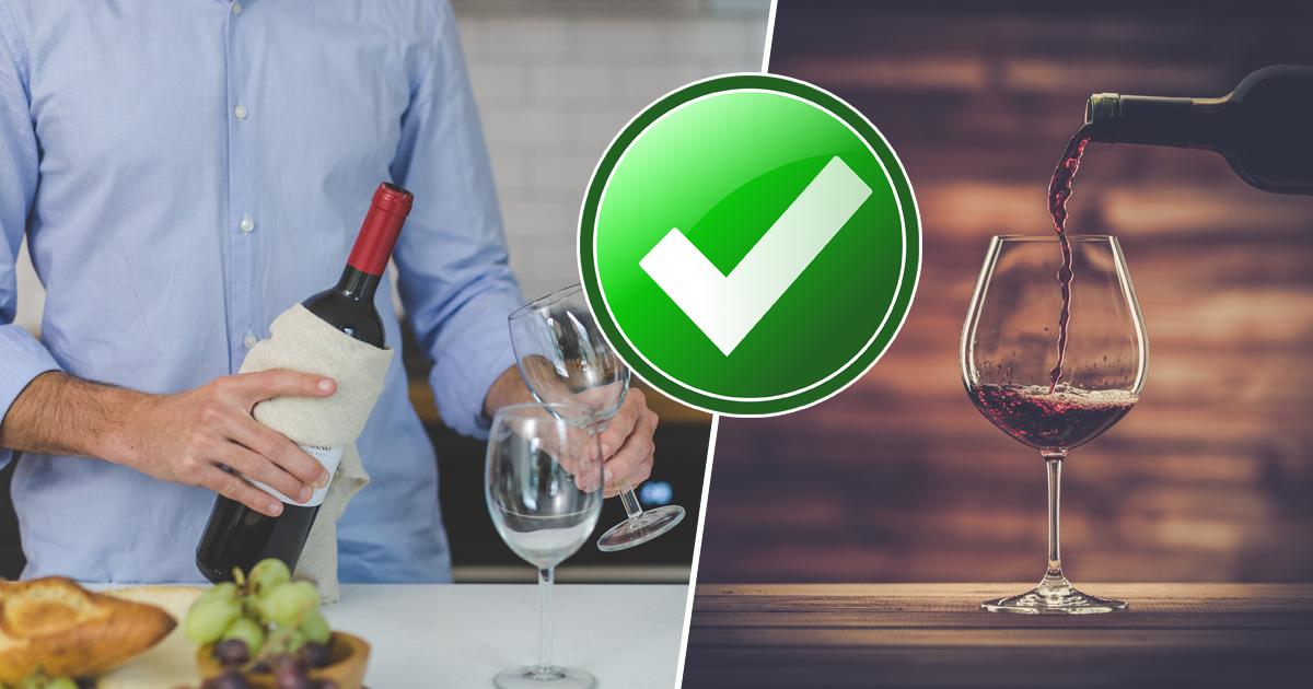Фото Правила употребления вина, которые следует знать каждому
