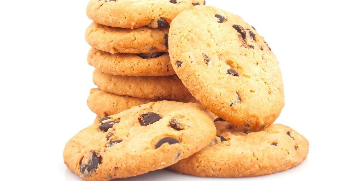Фото Домашнее печенье с шоколадом