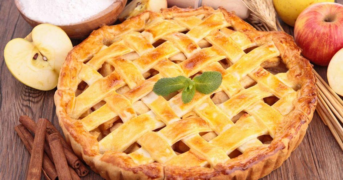 Фото Яблочный пирог от Джейми Оливера