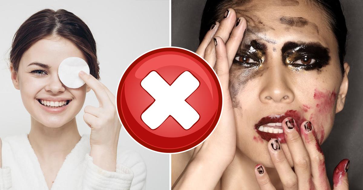 Фото Не три глаза! Ошибки при удалении макияжа, вредящие вашей коже