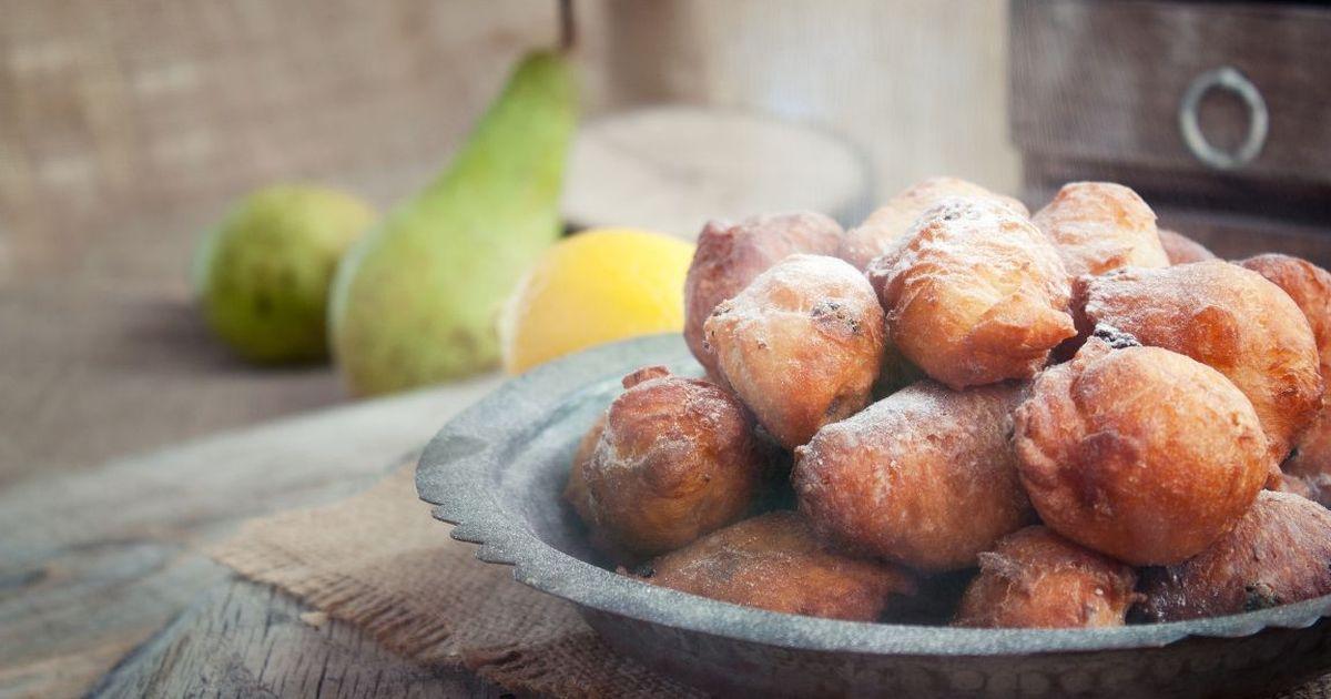 Фото Быстрые творожные пончики