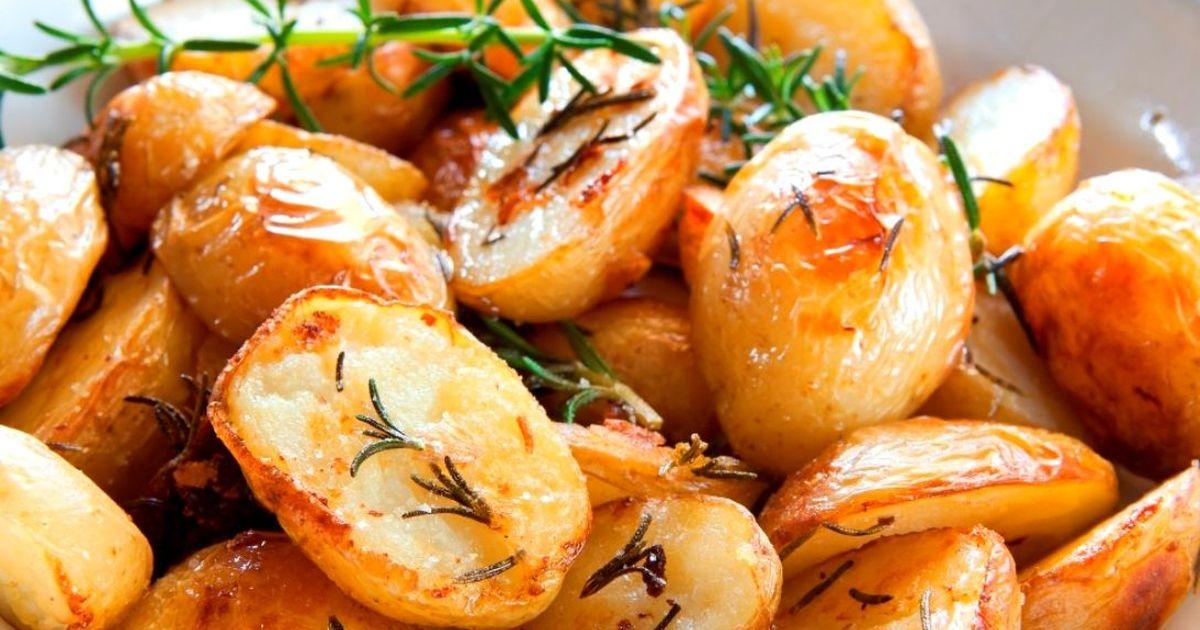 Фото Запеченный картофель по рецепту Джейми Оливера