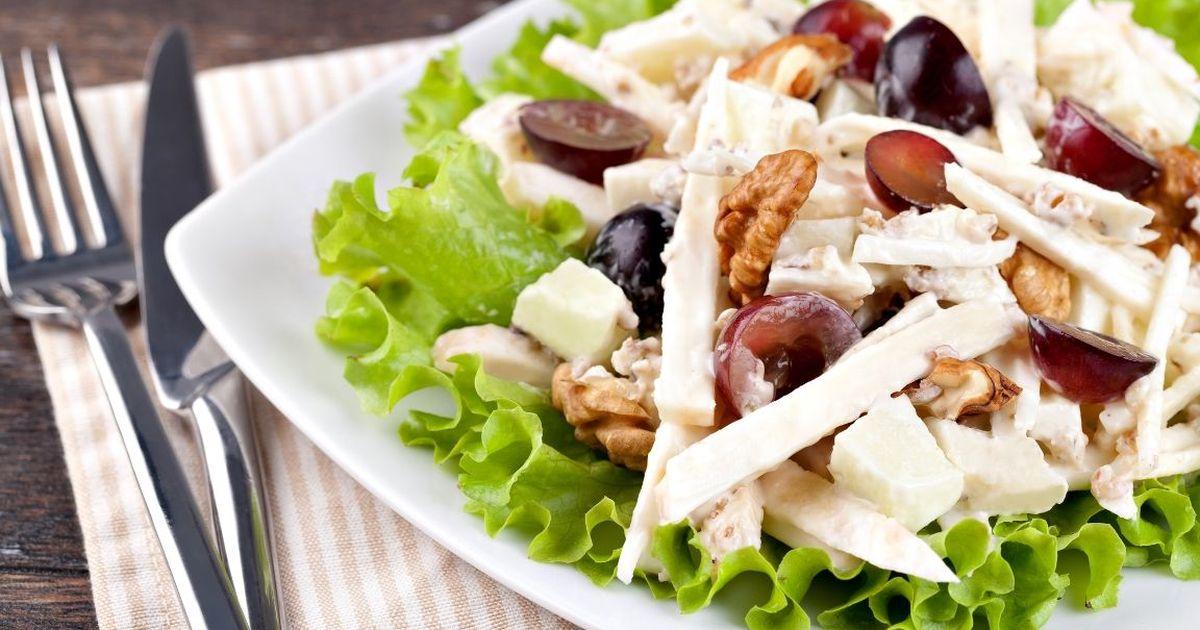 Фото Вкуснейший салат «Вальдорф»