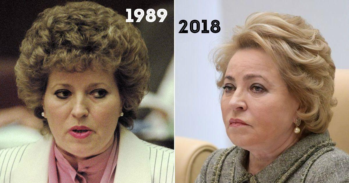 Фото Тогда и сейчас. Как изменились женщины-политики путинской эпохи (22 ФОТО)