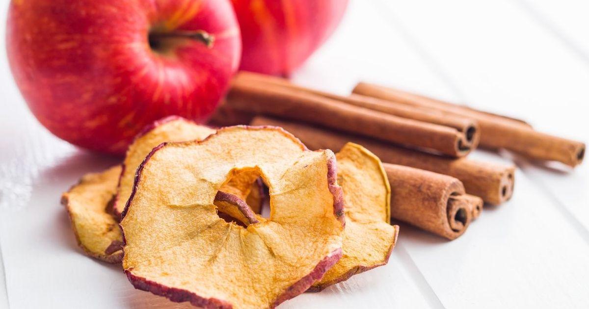 Фото Домашние яблочные чипсы