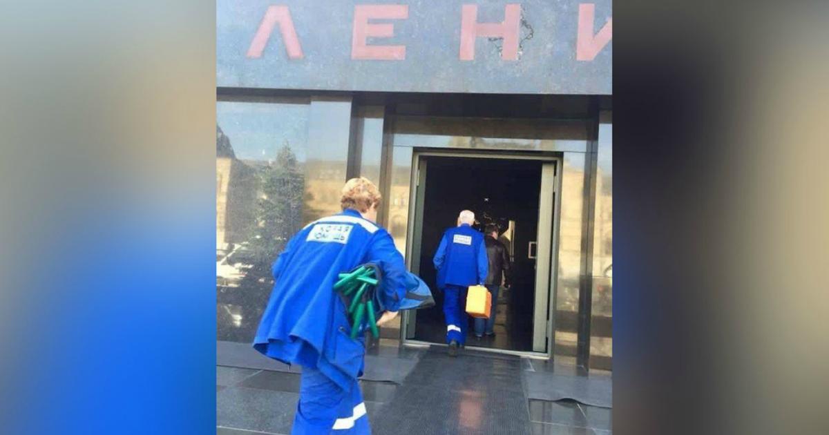 Фото Мавзолей Ленина. Что там делали врачи?