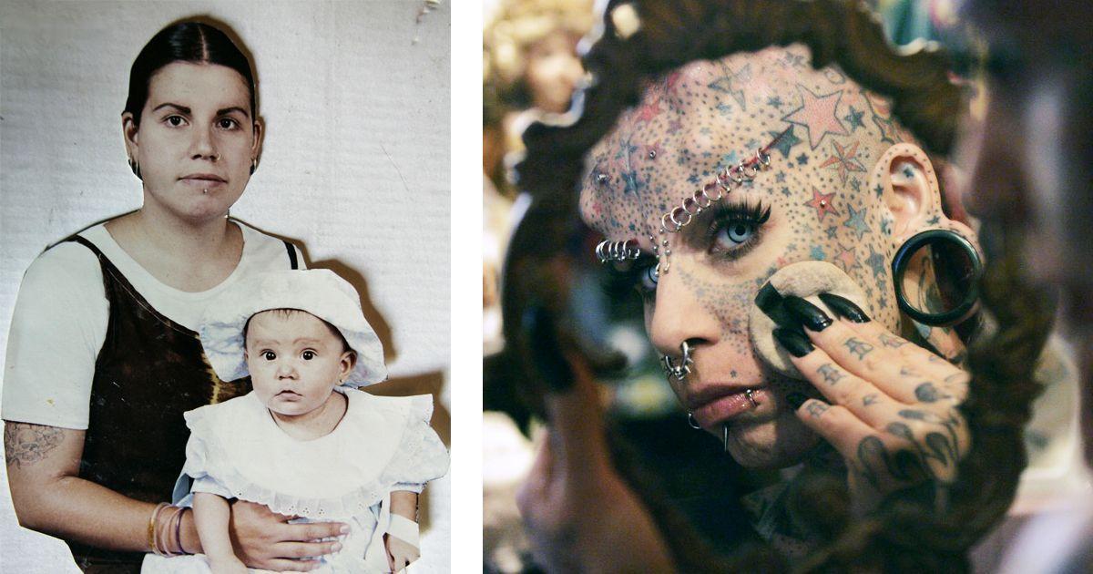Фото Олицетворение демона: как мать четырех детей стала вампиром