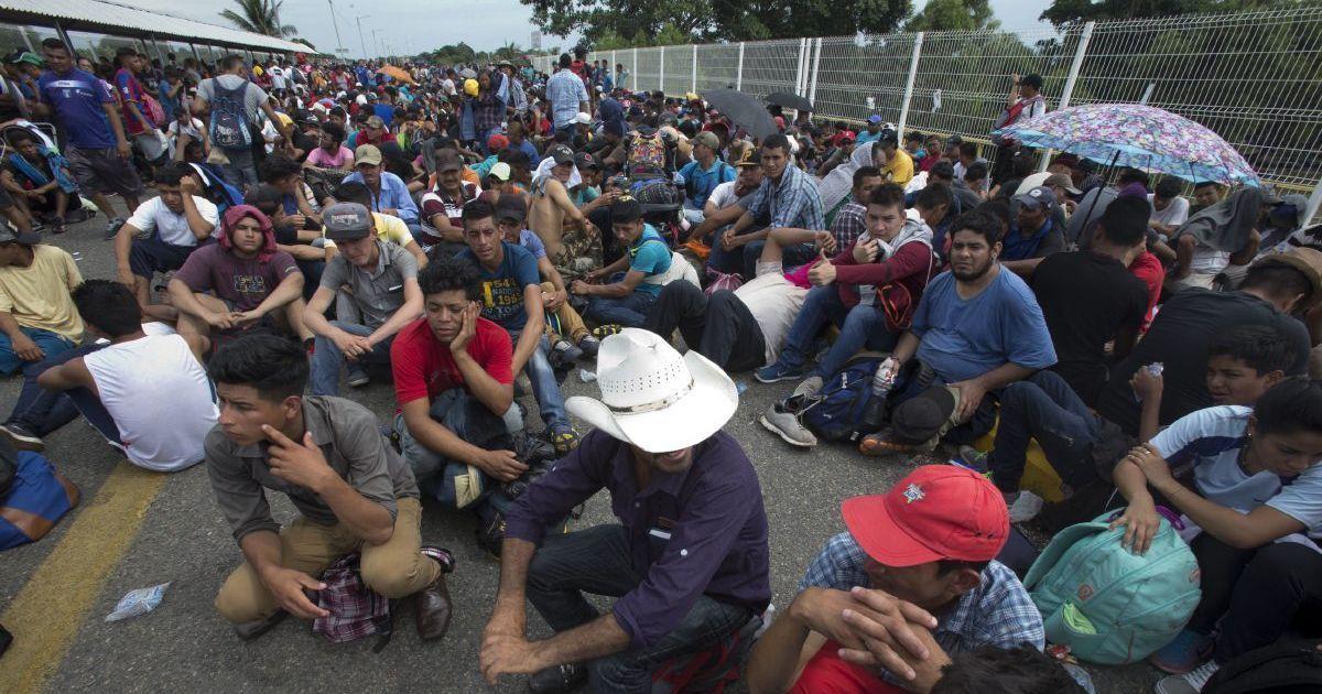 Фото Президент Мексики: Мы готовы принять мигрантов из Центральной Америки