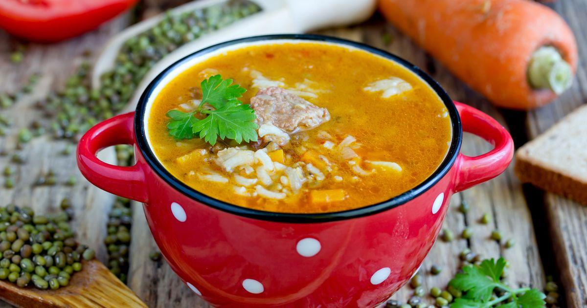 Фото Машхурда – сытный узбекский суп